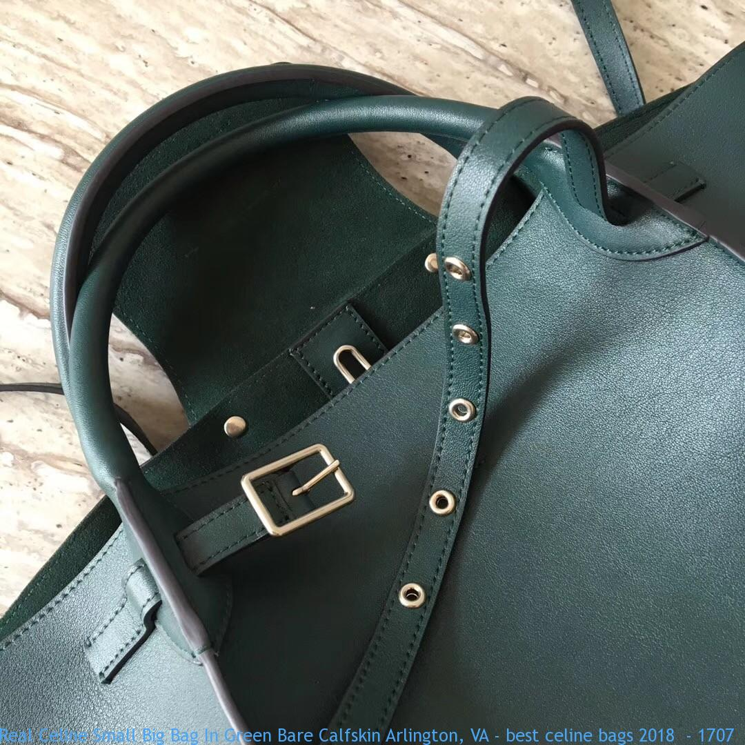 011d8c2e3d0 Real Celine Small Big Bag In Green Bare Calfskin Arlington, VA - best  celine bags 2018 - 1707